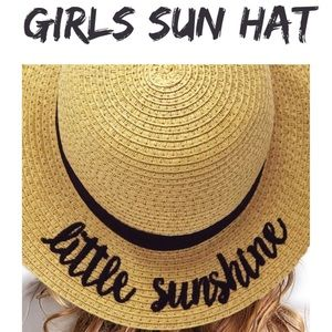Other - SALE/NO OFFERS LITTLE SUNSHINE GIRLS SUN HAT